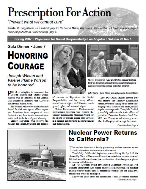 2007 Newsletters