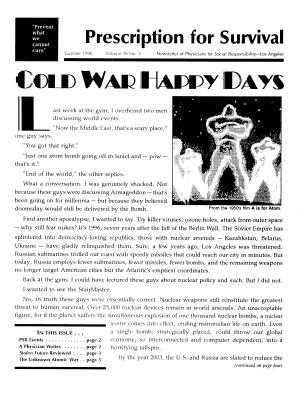 1996 Newsletters