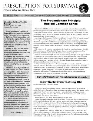 2002 Newsletters